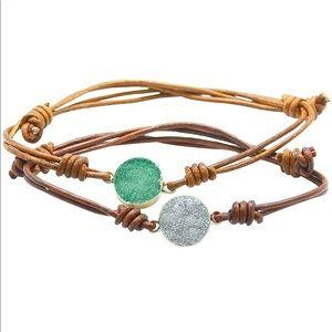 Boho Leather Bracelets